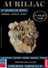 41. mineraler, fossil och smyckenutbyte i Aurillac