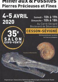 35: e Fossil Minerals utställning