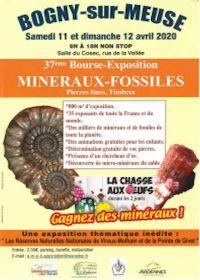 37: e börsutställningen fossila mineraler frimärken
