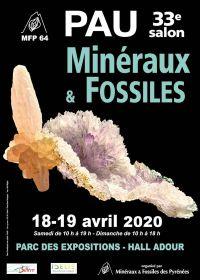33: e mineraler och fossilmässa
