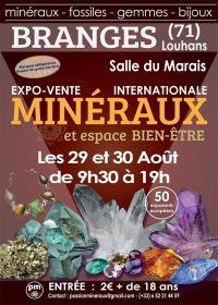 Första utställning och försäljning av Branges Minerals