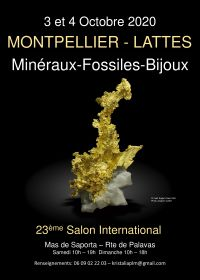International Exchange Minerals Fossils klippa stenar Lattes Montpellier