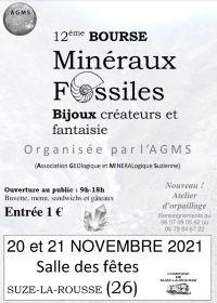 12: e mineraler, fossiler och smycken