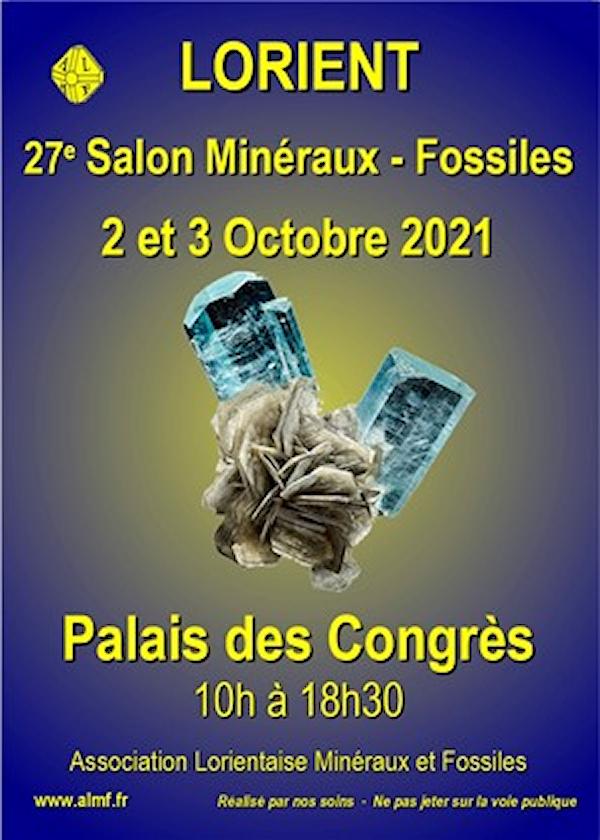 Mineralogisk och paleontologisk utställning och försäljning
