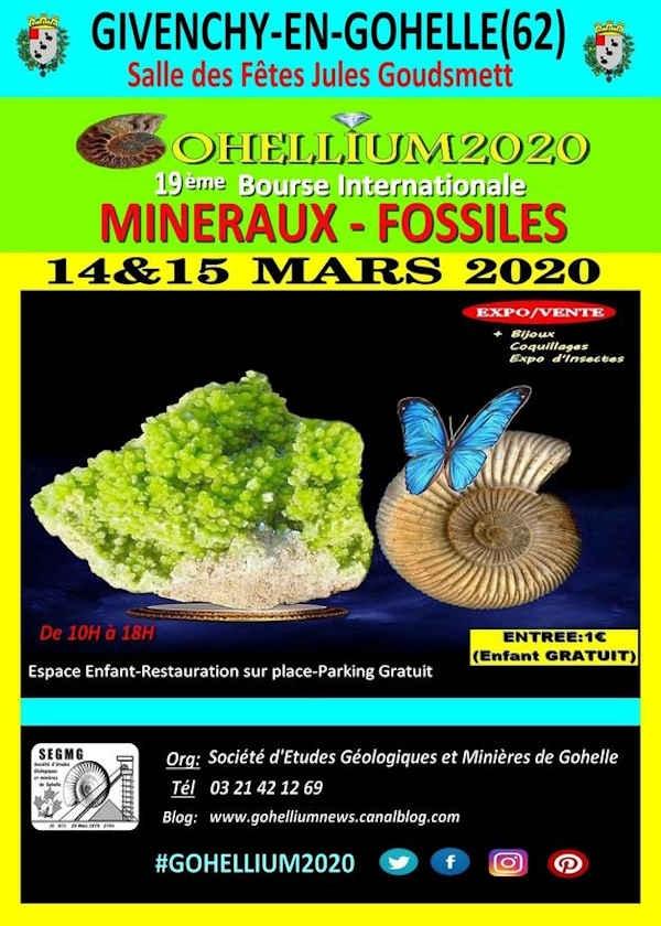 19th Gohellium International Fossil Minerals Fellowship 2020