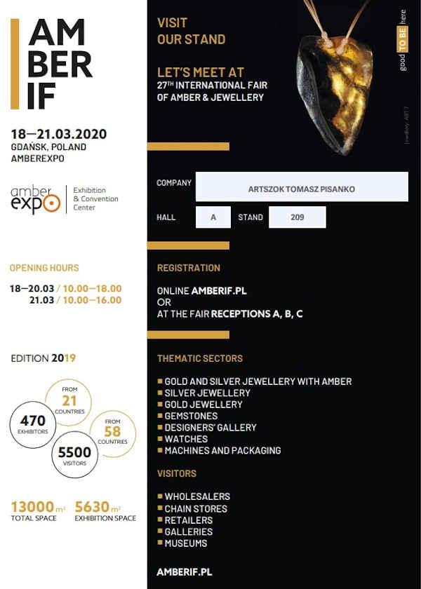 Internationell utställning av bärnsten, smycken och ädelstenar