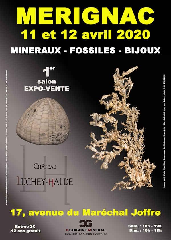1: a upplagan av mineral-, fossil- och smyckenmässan