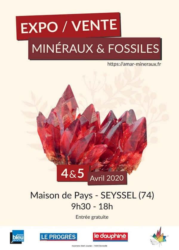 13: e upplagan utställningsförsäljning av mineraler och fossiler