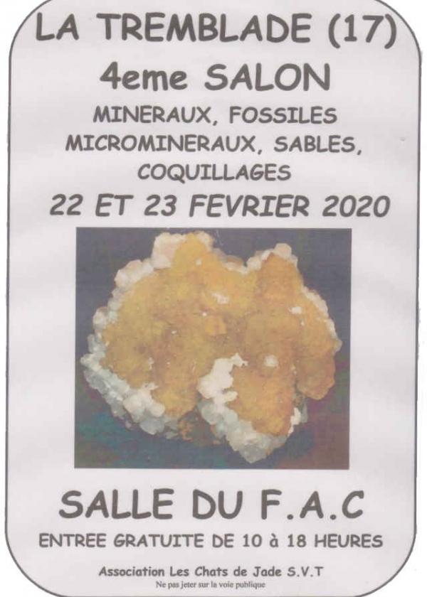 Fjärde mässan för mineraler, fossiler, mikromineraler, skal och sand