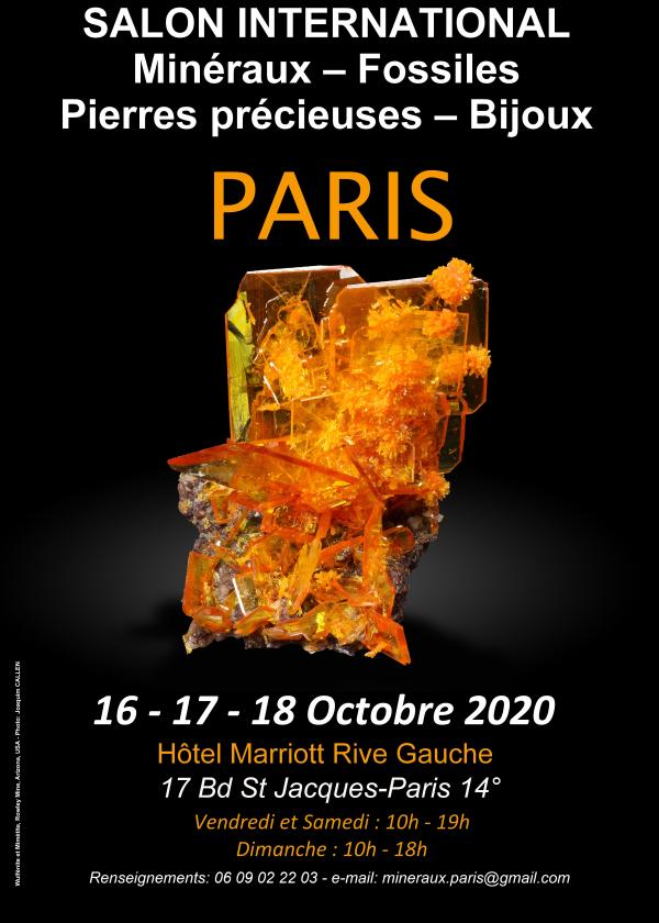 Paris International Fossil Minerals Gemstone Jewelry Fair