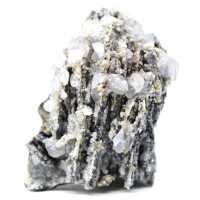 Cerusit, barit och kvarts