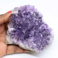 Naturlig kristalliserad ametist
