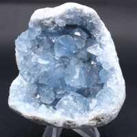 Celestitiska stenkristaller