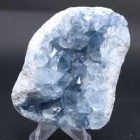 Block av naturliga Celestite -kristaller