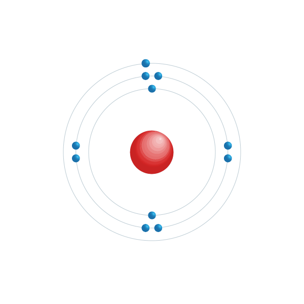 Natrium Elektroniskt konfigurationsschema