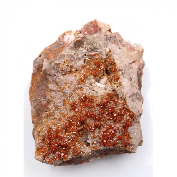 Vanadinitkristaller på matris