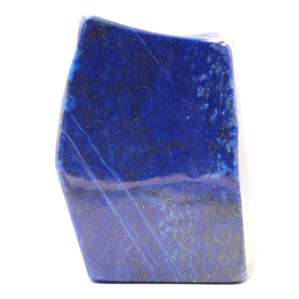Lapis Lazuli stenblock dekorativ abstrakt form