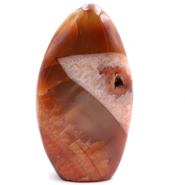 Helt polerad friform Carnelian Stone