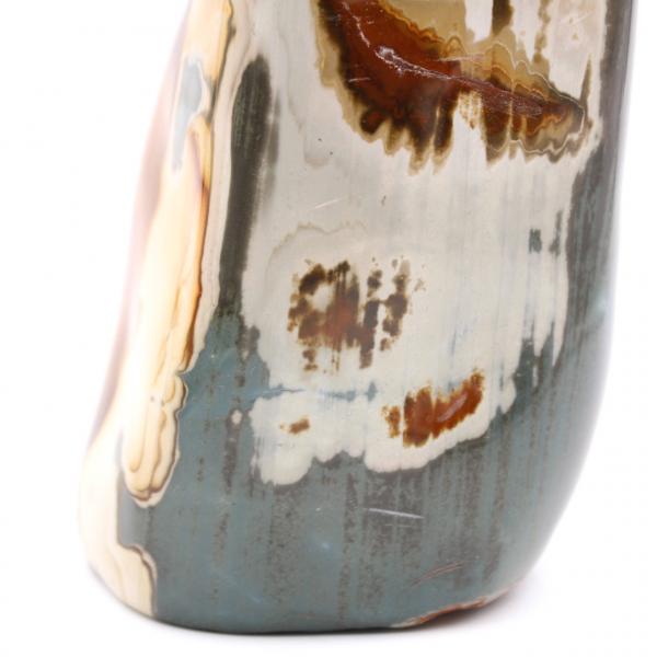 2,5 kilo tryckt jaspis, dekorativ sten