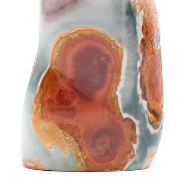 Dekorativ sten i tryckt jaspis, 3,5 kilo