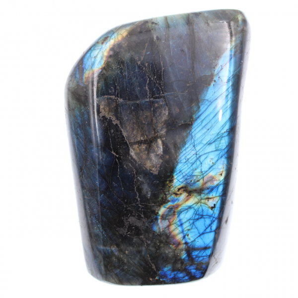 Blå labradorit, dekorativ sten