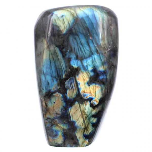 Blå dekorativ sten för labradoritgul