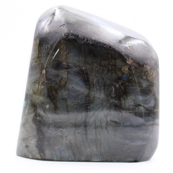Labradorit polerad sten