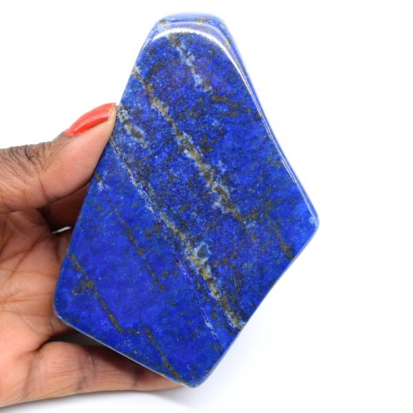 Polerad Lapis Lazuli Stone